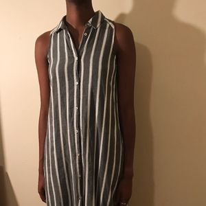 Striped Shirtdress Anthropologie